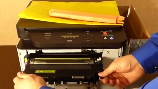 Обслуживание принтеров +